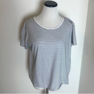 Zara Organic Cotton Striped T-Shirt